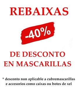 40% MASCARILLAS
